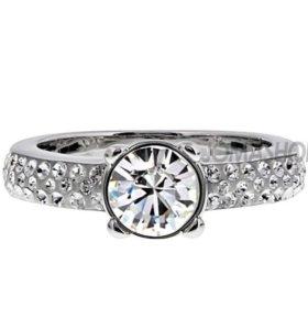 Круглое кольцо attract Swarovski оригинал