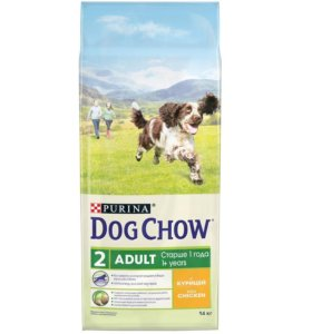 Корм для собак Dog Chow Adult 14кг