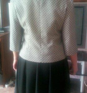 Костюм(пиджак+юбка) можно отдельно