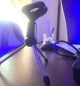 Новая стойка для микрофона