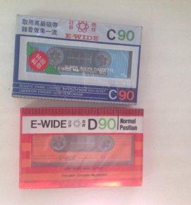 Аудиокассеты / кассеты / новые