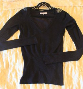 Чёрный свитер Bershka