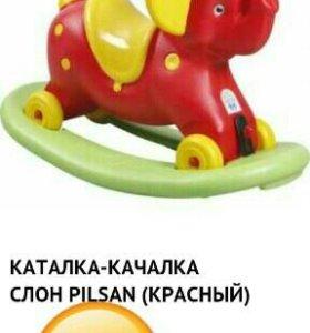 Слон каталка качалка