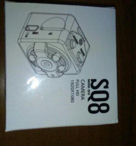Mini Видеокамерет работать как видеора SQ8 Full HD