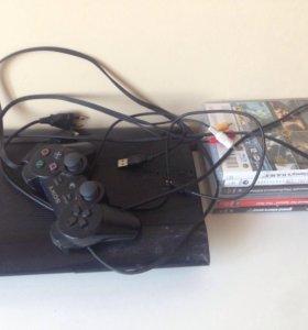 PlayStation 3 500gb +игры