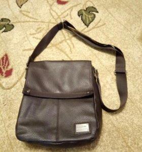 Кожанная сумка ostin
