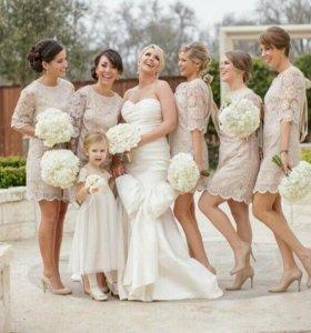 Вечерние и свадебные платья на заказ