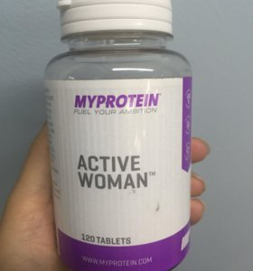 Витамины Active woman(120таблеток)