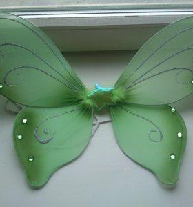 Карнавальный костюм крылышки