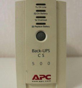 Источник Песберебойного Питания АРС Back-UPS 500Еi