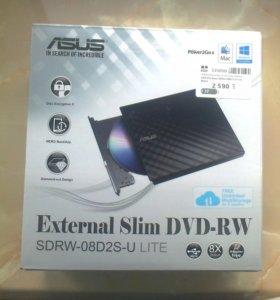 Продам новый внешний DVD-RW привод