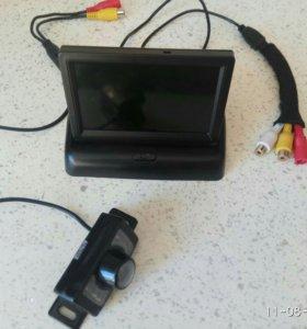 Монитор + камера заднего вида