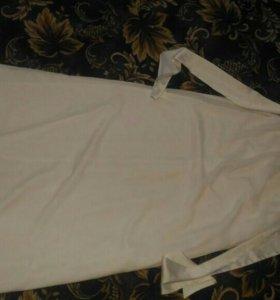 Свадебное прямое платье 44.46 р