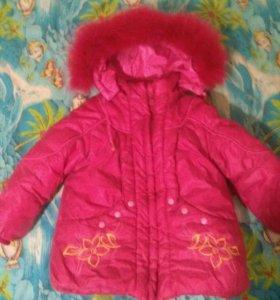 Курточка на 2-4года