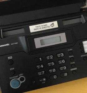 Телефон Panasonic KX FT 934 факс копир с бумагой