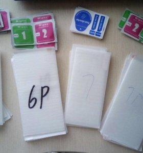 Стекло iPhone 6/6s, 6 plus/6s plus, 7, 7plus