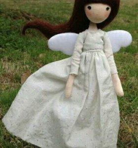 Кукла, ручная работа