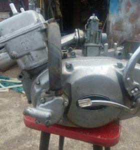 Двигатель ИЖ Юнкер,обмен
