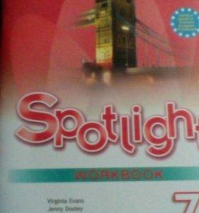 Рабочая тетрадь по английскому языку Spotlight 7 к