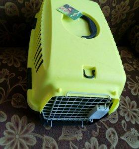 Клетка для перевоза кошек и мелких собак