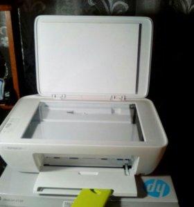 Сканер, мфу HP DeskJet 2130 струйный цветной