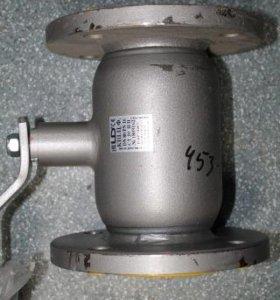 Кран шаровый цельно сварной фланцевый 80 мм