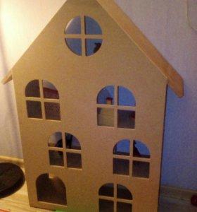 Кукольный домик 950х600х200