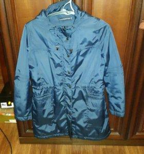 Куртка женская, синяя