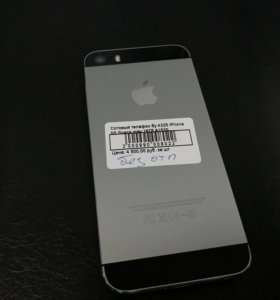 iPhone 5s 16 черный бу