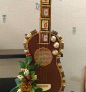 """Сладкий подарок """"Гитара"""""""