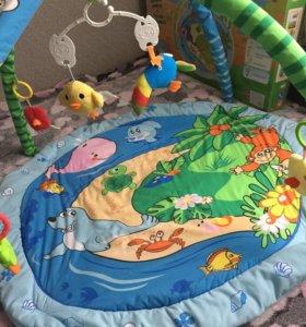 Развивающий коврик ''полянка''