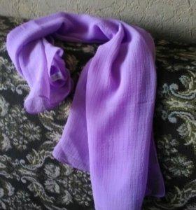 Платок,легкий шифоновый шарфик