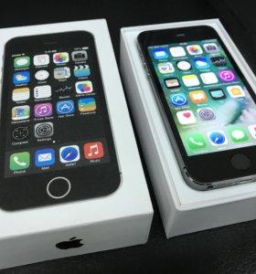 iPhone 5s 16 черный оригинал бу