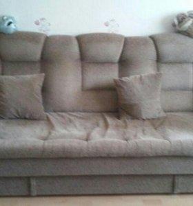 Мягкая диван