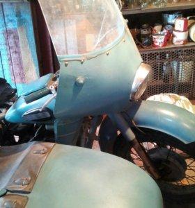 Мотоцикл к - 750