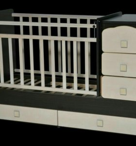 Детская кроватка новая и детская коляска