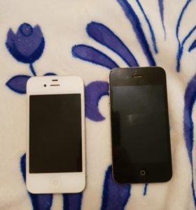 Айфоны 4 и 4S