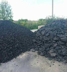 Уголь дрова