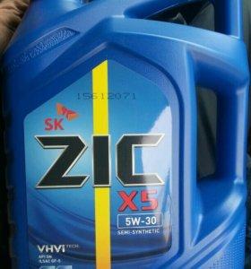 Zic 5w30 полусинтетика 4 литра