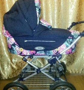 Идеальная коляска 2 в 1 Roan. Теплая и уютная