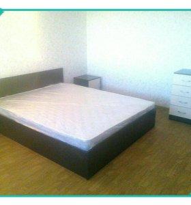 Кровать Новая с матрасом марс