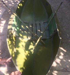 Лодка аллюминиевая