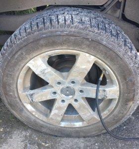 Продам запаску, диск, колесо, шину