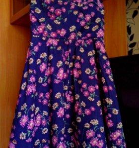 Новое хлопковое платье Oasis