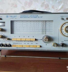 Вч генератор Г4-107
