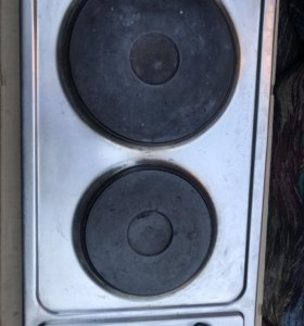 Электрическая двойная плита