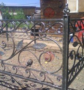 Ритуальные изделия оградки на могилу ограждения