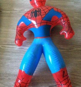 Игрушка надувной человек паук