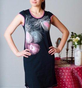 Платье туника новая размеры 48,50,54,56
