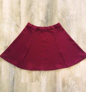 Та самая бордовая юбка)